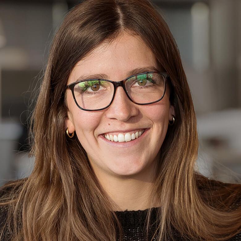 Unsere Mitarbeiterin Rebecca Schürmann