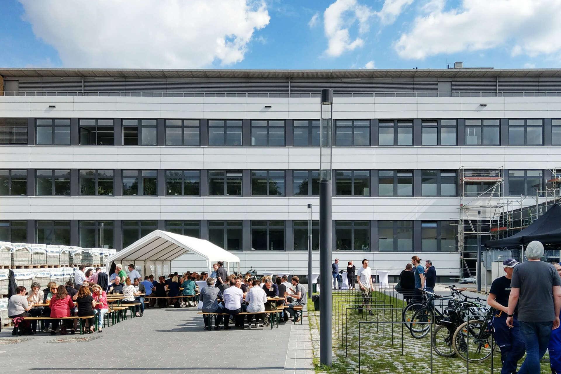Eröffnung bei der FU Berlin