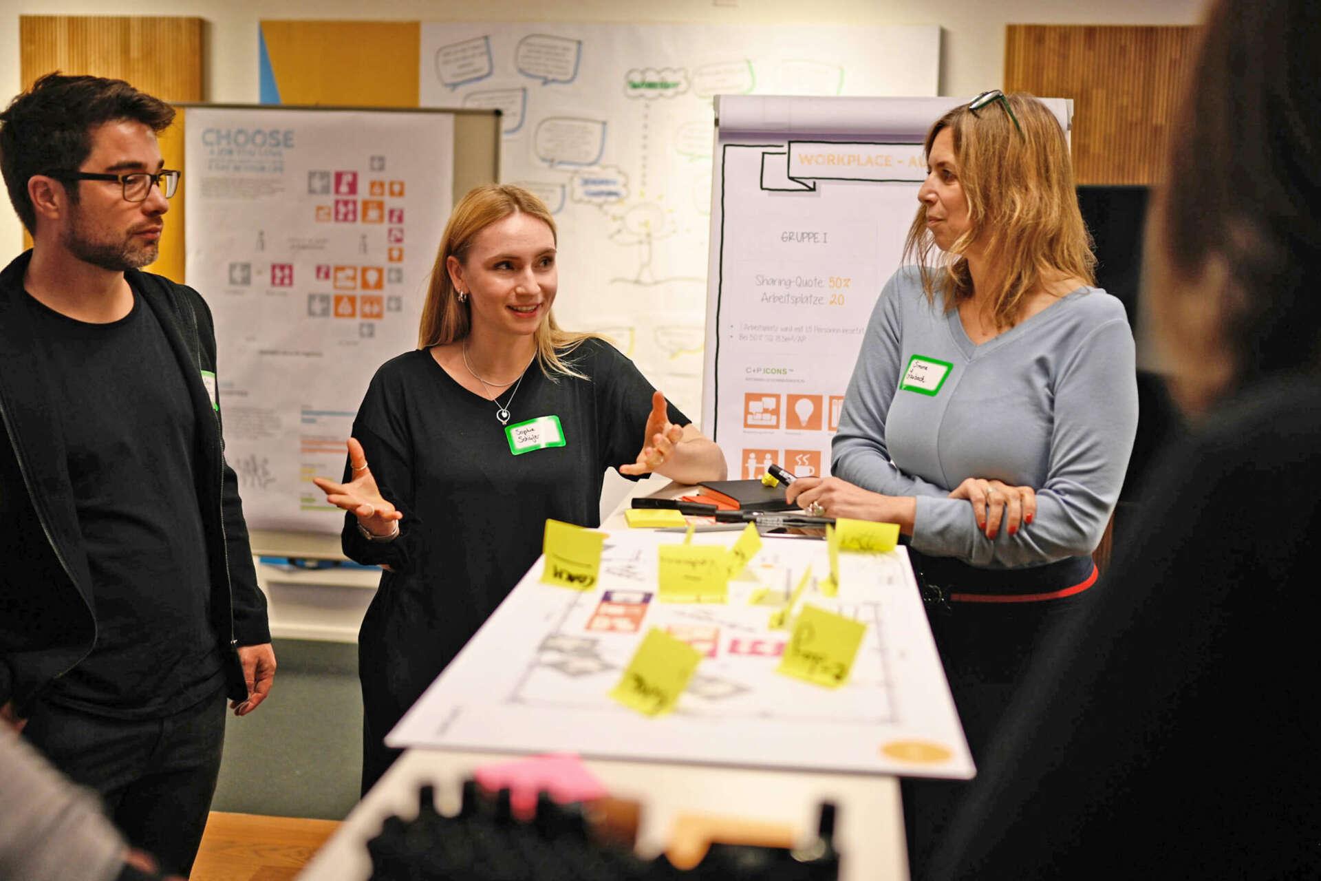 Partizipativer Workshop bei der MCBW
